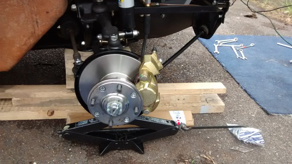 Mini brake discs and calipers